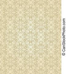 seamless pattern Damask