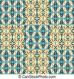 Seamless pattern. Mosaic.