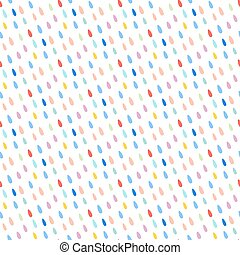 Seamless pattern with drops. Abstract background.