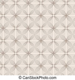 Seamless vector abstract geometric pattern