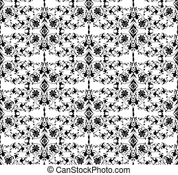 Seamless vector ornamental background