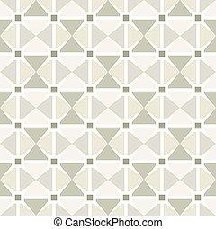 Seamless vintage geometric triangular mosaic pattern background wallpaper