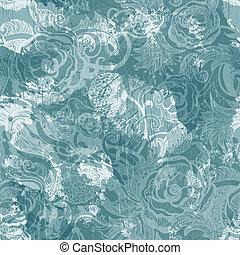 Seamless vintage pattern. Vector, EPS10