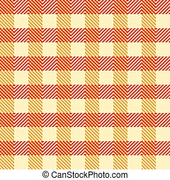 Seamless Vintage Square Pattern. Geometric Background. Vector