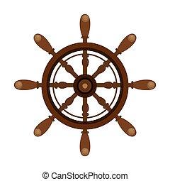 ship timon maritime frame vector illustration design