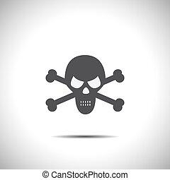 skull vector icon