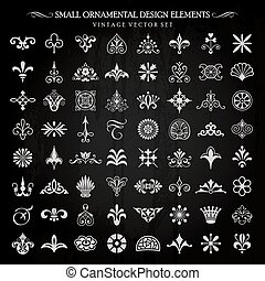 Small vector design elements