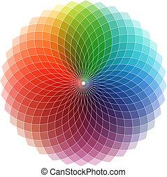 Spectrum coloured logo