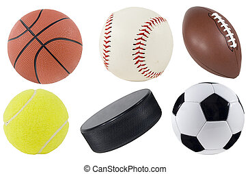 Picture of isolated sports equipment.