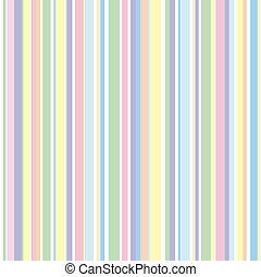 Strip pattern, pastel colors