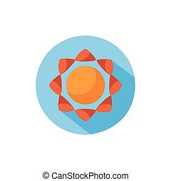 sun summer block style icon