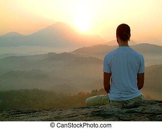 sunrise meditation