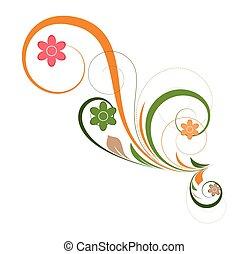 Swirl Flourish Design Element