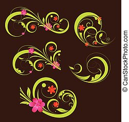Swirl Flourish Elements