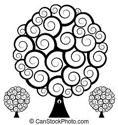 Swirl Tree Owl