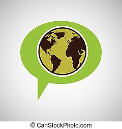 symbol environment globe graphic