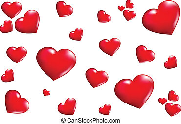 texture Hearts