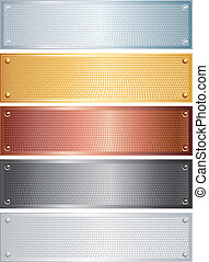 Textured Banners