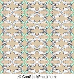 The classic pattern. The color of coffee with milk.