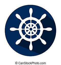timon ship antique icon vector illustration graphic