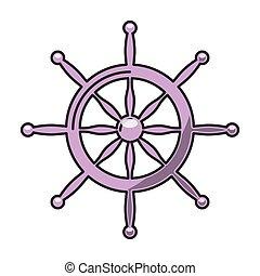 timon ship marine icon vector isolated graphic
