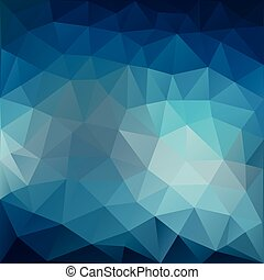 Triangle abstract background with highlights. Vector illustration.