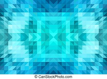 triangle seamless vector pattern