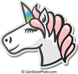 Unicorn emoji sticker