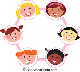 Unity - multi cultural woman group