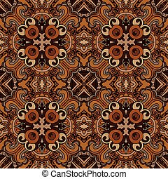 Vector abstract ethnic seamless pattern tribal