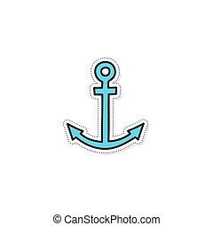 Vector anchor icon