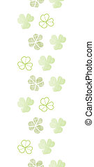 clover geometric textile textured vertical seamless pattern background