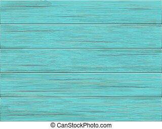 Vector green wooden background