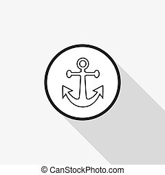 Vector icon anchor