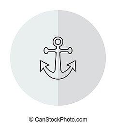 Vector icon anchor