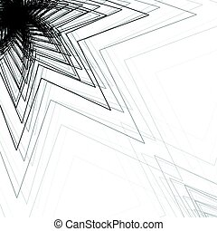 Vector illustration of abstract triangle background