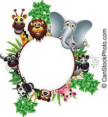 cute animal cartoon collection