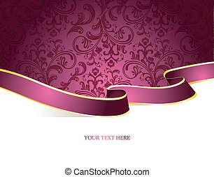 Vector illustration of Vintage background