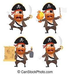 Set pirate character
