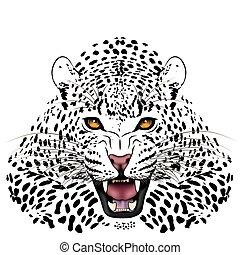 Vector Leopard, tattoo