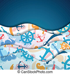 Vector Nautical Background