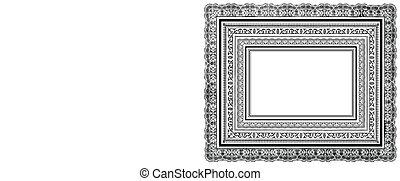 Vector Ornate Layered Frames