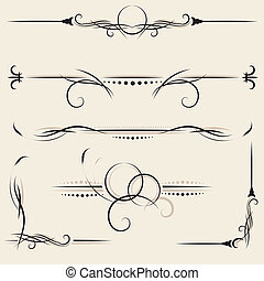 vector set: design elements