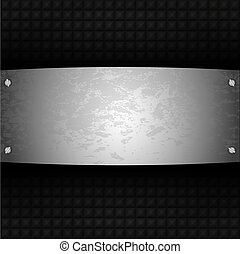 vector steel plate for your design