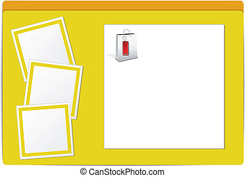 Vector template for web