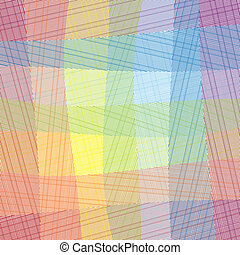 Elegance Vector Checkered Textile Pattern