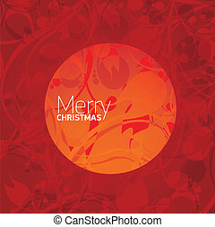 vector xmas or happy new year card