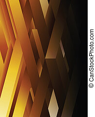 Yellow abstract geometric lines background