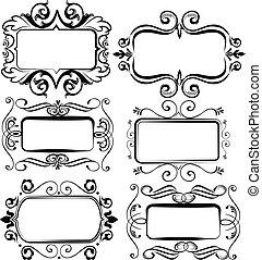 Vintage artistics frames