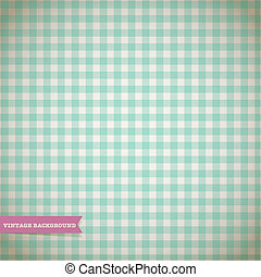 Vintage Checked Pattern